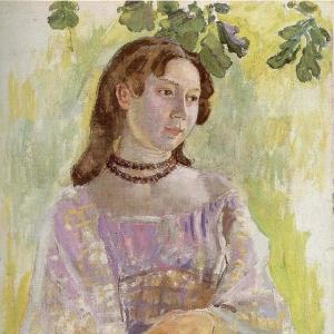 Девушка с ожерельем, 1904