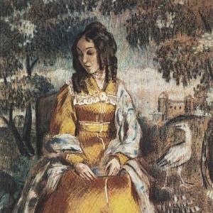 Дама у гобелена (Портрет Н.Ю.Станюкович), 1903