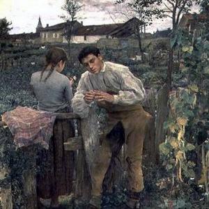 Жюль Бастьен-Лепаж - Деревенская любовь