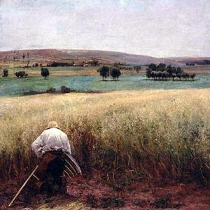Жюль Бастьен-Лепаж - Зерновые созрели