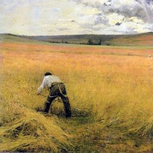 Жюль Бастьен-Лепаж - Зерновые созрели 2