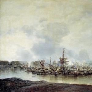 Сражение при Гангуте 27 июля 1714 года. 1877