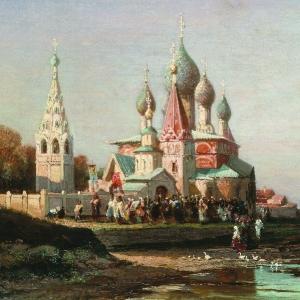 Крестный ход в Ярославле