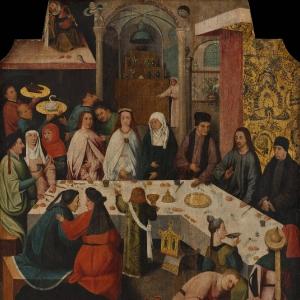 Брак в Кане (1475-1480)  (Роттердам, Музей Бойманса-ван-Бёнингена)