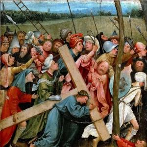 Несение креста (ок.1480)  (Вена, Музей истории искусств)