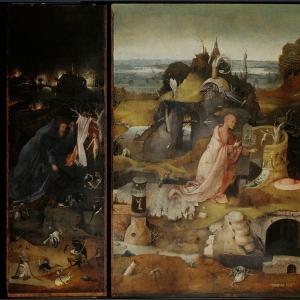 Триптих Св.отшельники (1490-1500)
