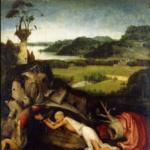 Св.Иероним на молитве (ок.1500)