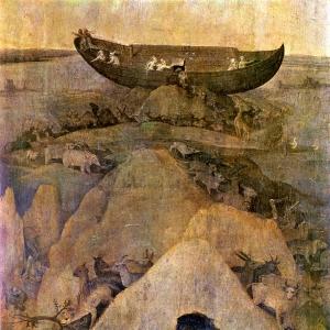 Земля после потопа (ок.1500)