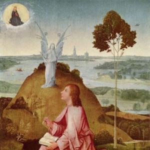 Св.Евангелист Иоанн на Патмосе (1490-1500)