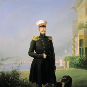 Портрет императора Николая I. 1849