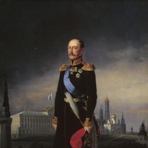 Портрет императора Николая I. 1856