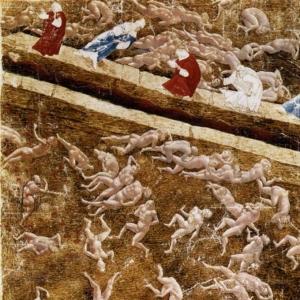 Круги ада (ок.1480)