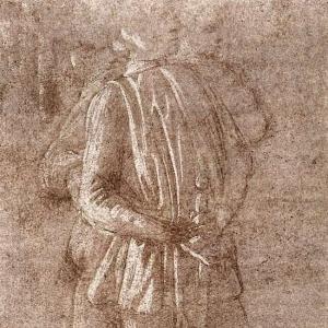 Штудия двух стоящих фигур (ок.1475)