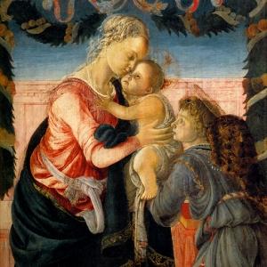Мадонна с младенцем и ангелом (1467-1468)