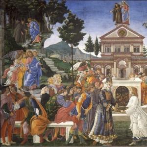 Три искушения Христа и исцеление прокажёноого