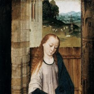 Боутс Дирк - Поклоняющаяся Дева Мария