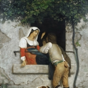 Вильям Бугро - Итальянские влюбленные