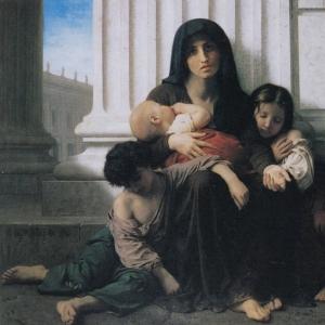 Вильям Бугро - Неимущая семья
