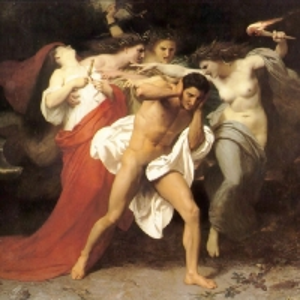 Вильям Бугро - Орест, преследуемый фуриями