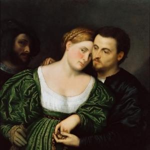 Бордоне Парис - Венецианские любовники