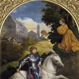 Бордоне Парис - Святой Георгий и Дракон