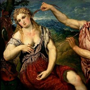 Бордоне Парис - Аллегория любви Марса и Венеры