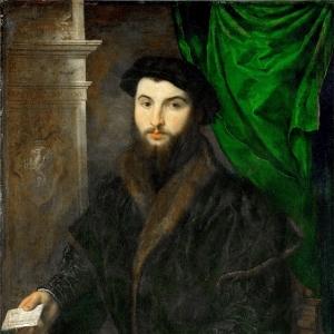 Бордоне Парис - Портрет купца из Аугсбурга Иеронима Крафтера