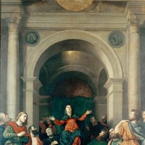 Бордоне Парис - Сошествие Святого Духа на апостолов в день Пятидесятницы