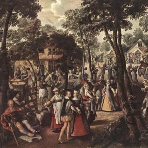 Иоахим Бейкелар - Сельский праздник