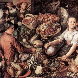 Иоахим Бейкелар - Овощной рынок