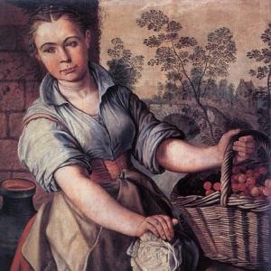 Иоахим Бейкелар - Продавщица овощей