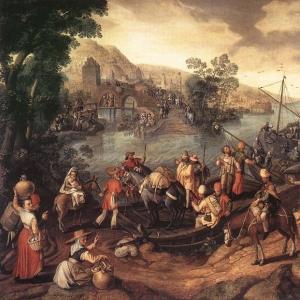Иоахим Бейкелар - Бегство в Египет