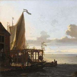 Людольф Бакхёйзен - Небольшая гавань у таверны