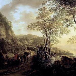 Ян Бот - Итальянский пейзаж