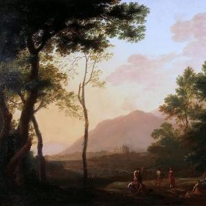 Ян Бот - Пасторальный пейзаж