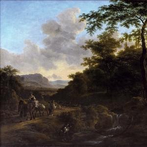 Ян Бот - Итальянский пейзаж 2