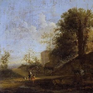 Ян Бот - Итальянский пейзаж 3