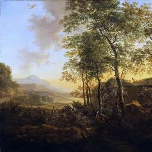 Ян Бот - Итальянский пейзаж. ок 1645