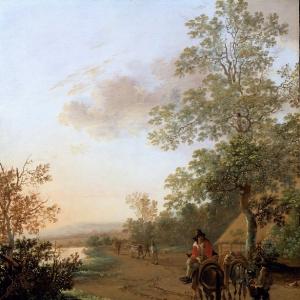 Ян Бот - Дорога на берегу озера