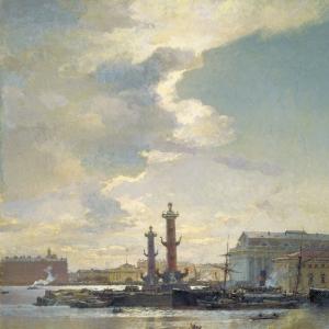 Петербургская биржа. 1891