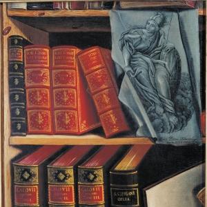Натюрморт с книгами. 1737