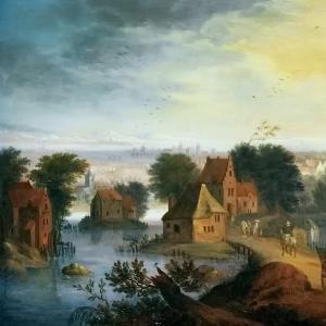 Ян Брейгель Младший - Деревенский пейзаж 2