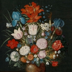 Ян Брейгель Младший - Букет цветов в вазе