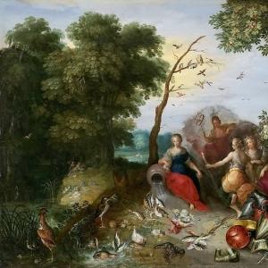 Ян Брейгель Младший - Аллегория четырех элементов (совм с Франсом Франкеном)
