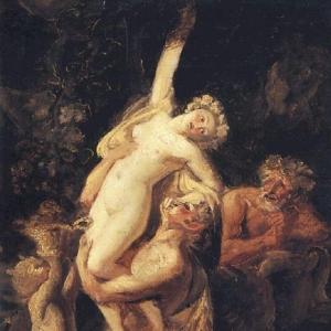 Вакхическая группа. 1824