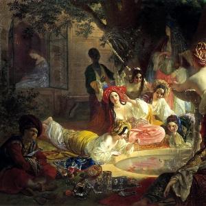 Бахчисарайский фонтан (1849)