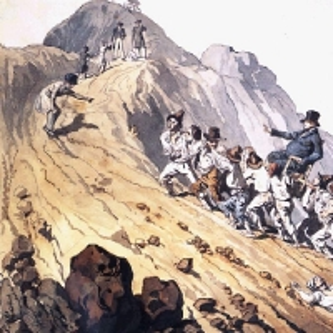 Вознесение барона Шилинга. 1824