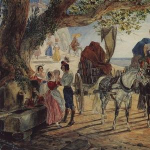 Гулянье в Альбано. 1830-1833
