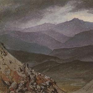 Дорога в Синано после грозы. 1835