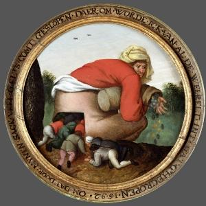 Фламандские пословицы-21 (1592)